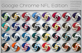 Google Chrome NFL Edition