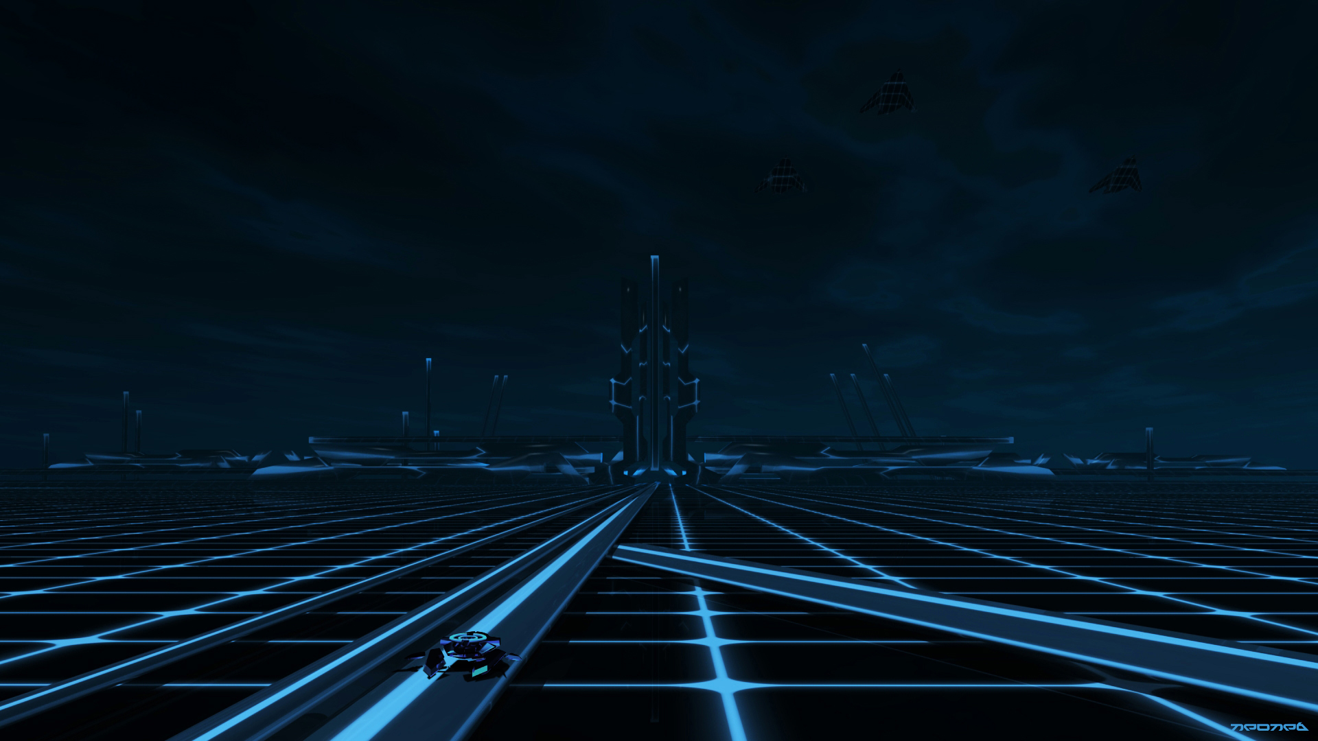 tron the grid wallpaper - photo #1