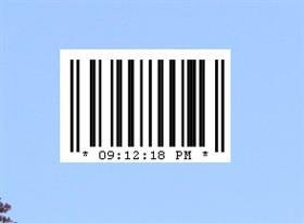 Barcode Clock 1.0
