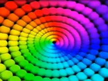 the rainbow black hole