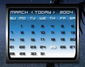 worn dx calendar