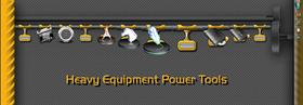 Heavy Equipment Power Tools