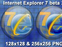 Internet Explorer 7 glass sphere