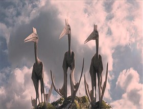 The Three Stooges Pteranodon