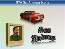 GTA SanAndreas Icons