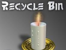 Recycle Bin: Candle