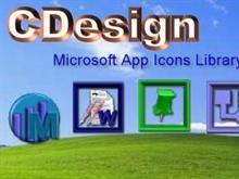 Microsoft App Icons Library v1.0