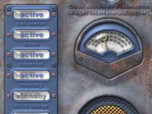 Plasmatron clock widget