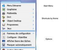 ObjectBar Aqua OSX