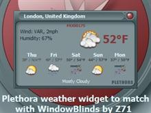 Plethora Weather Widget