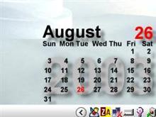 Black Calendar