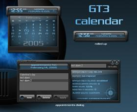 GT3 calendar