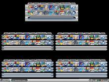 UniverseMetal Dock Backgrounds 2