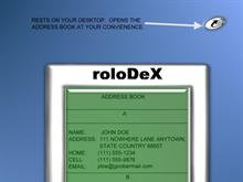 roloDeX