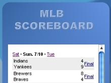MLB Scoreboard