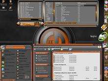 CopperDeck   Winamp Orange Glow