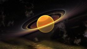 Saturn 3D Render LV