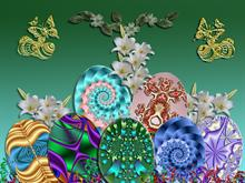 Easter Eggs From Fractals