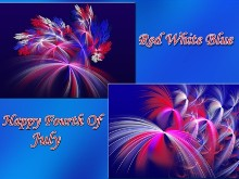 Wall Pack Red White Blue