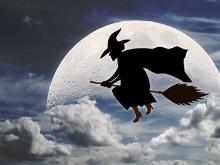 Halloween Broom Hilda