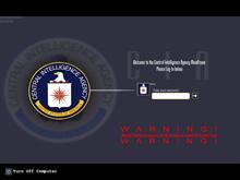 CIA Mainframe Login