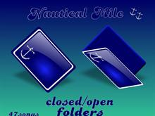 Nautical Mile_closed/open folders