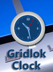 Gridlok Clock Widget