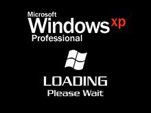 Windows XP Pro Loading