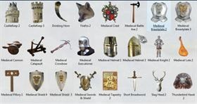 Medieval Dock Icons 3