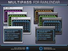 Multipass Rainlendar