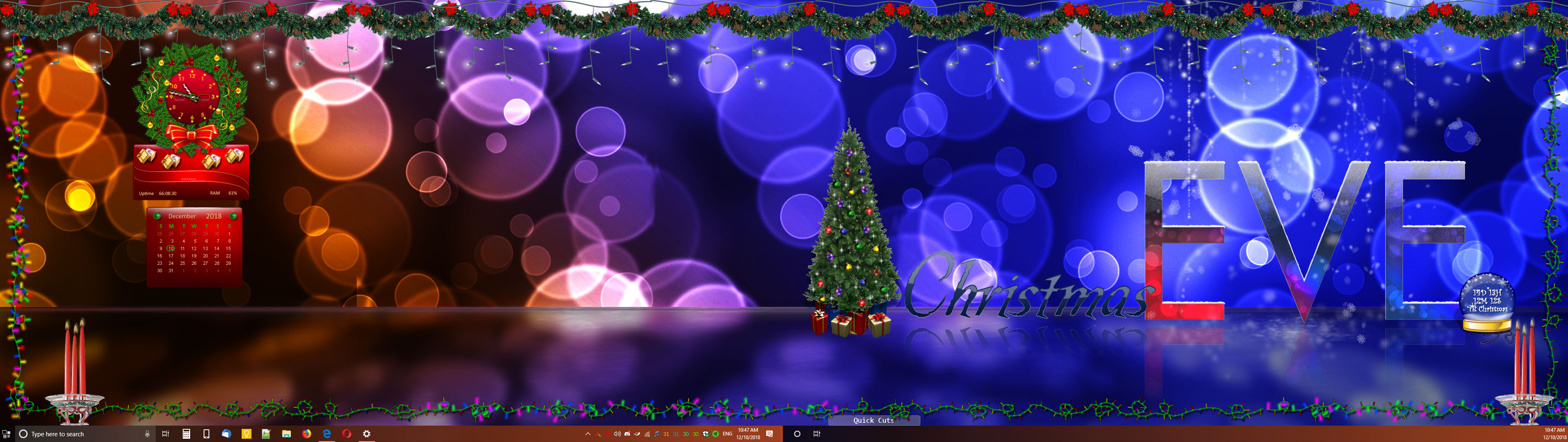 Christmas DesktopX 2018