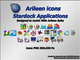 Stardock Softwares Dock Icons (by Q94)