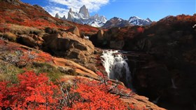 Spectacular_ Fitz Roy Mountain _Waterfall