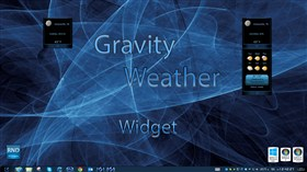 Gravity Weather Widget