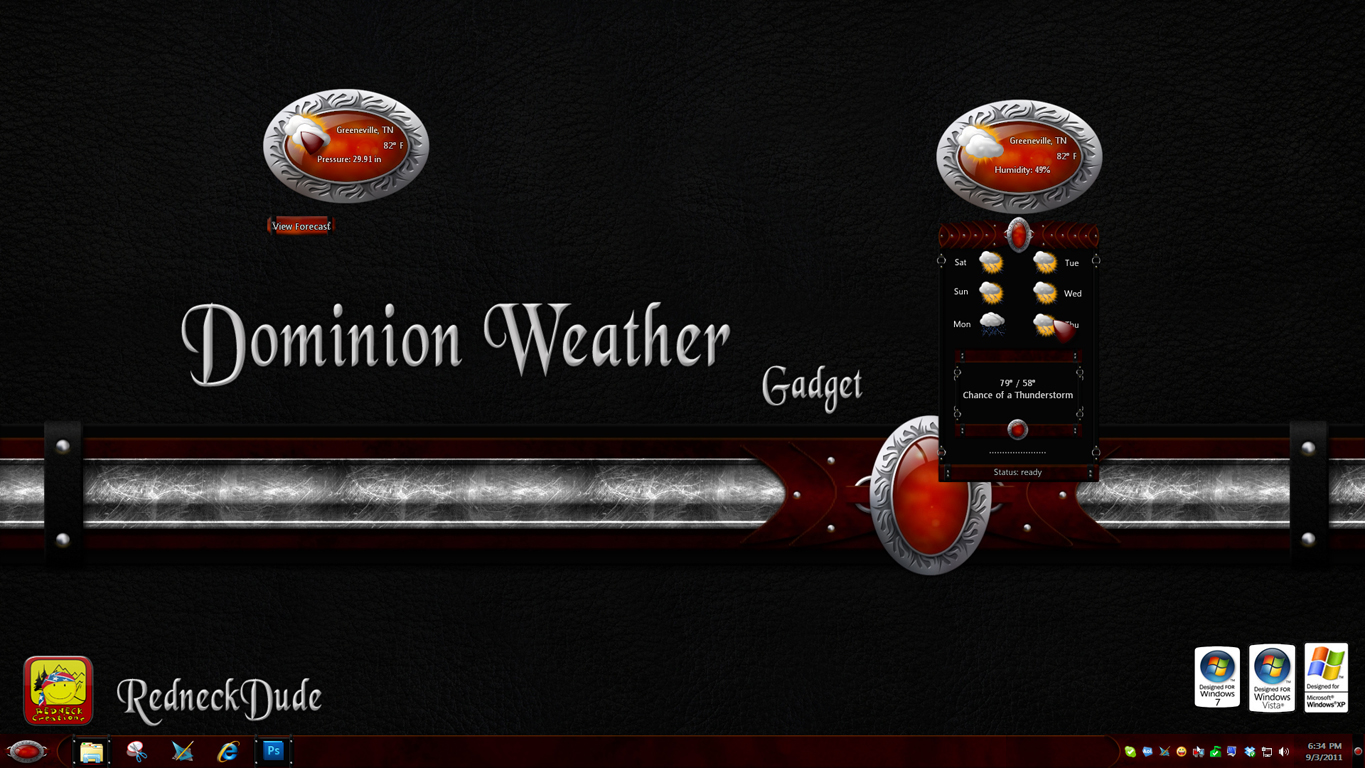 Dominion Weather Gadget