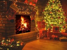 Christmas Fireplace2