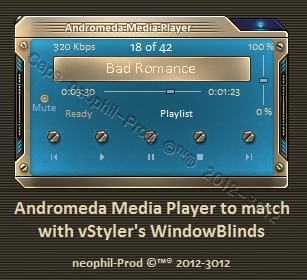 Andromeda Media Player