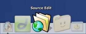 Source Edit Dock Icon