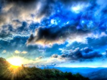 HDR Sunrise 1