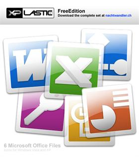 XPlastic07 Office Icons